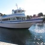 Bruce Peninsula - Barco que fizemos o passeio