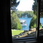 Bruce Peninsula - Vista do nosso quarto