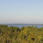 Bruce Peninsula - Vista do alto observatório