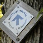 Bruce Peninsula - Inicio da trilha