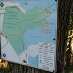 Bruce Peninsula - Mapa da trilha